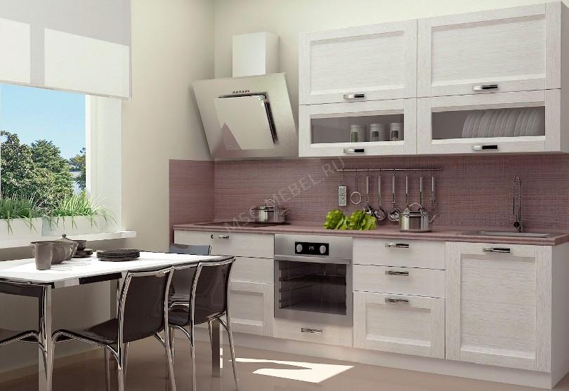 Кухня из массива березы Марина