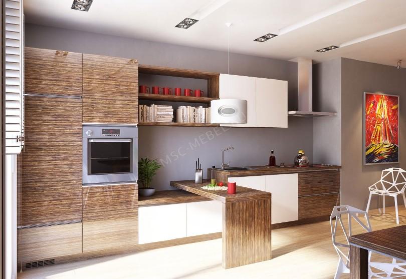 Кухни в стиле лофт на заказ «Галерея»