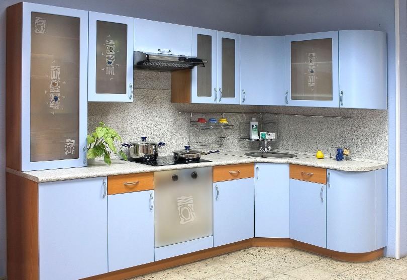 Фото Кухня Аркада с фасадами пластик