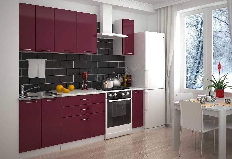 Фото Встроенный кухонный гарнитур Класс для маленькой кухни