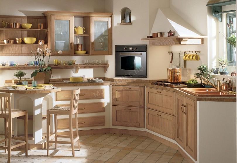 Фото Кухня в стиле прованс «Едим дома»