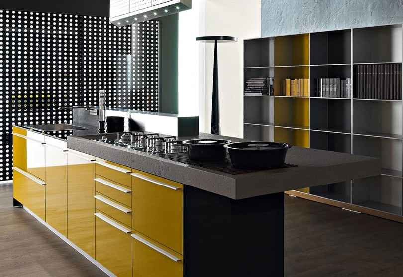 Кухня в стиле минимализм «Кухня Valcucine»
