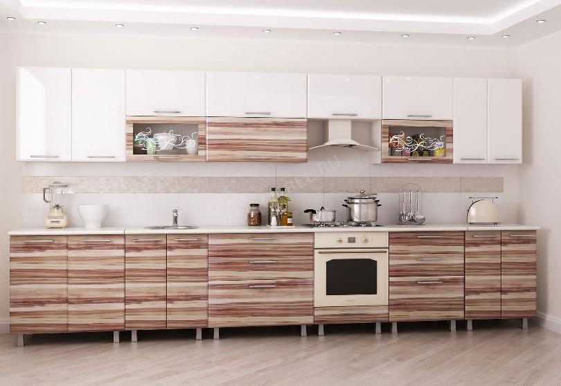 Кухня в стиле модерн «Оптима»