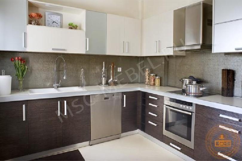 Угловая кухня «Кухня Мокко»