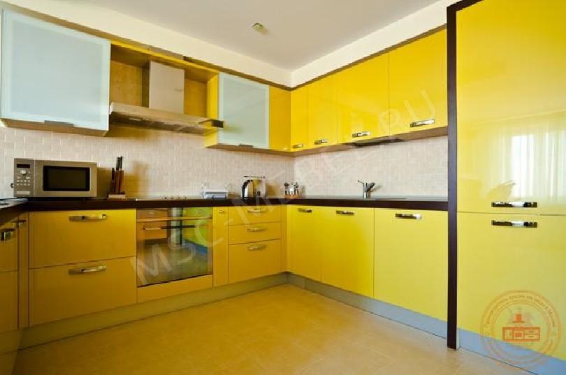Угловая кухня «Солнечный фреш»