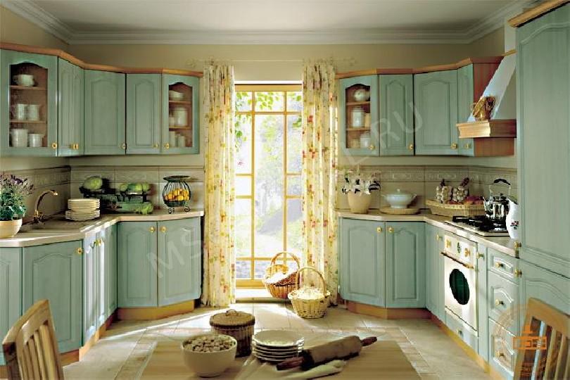 Угловая кухня «Французский блик»