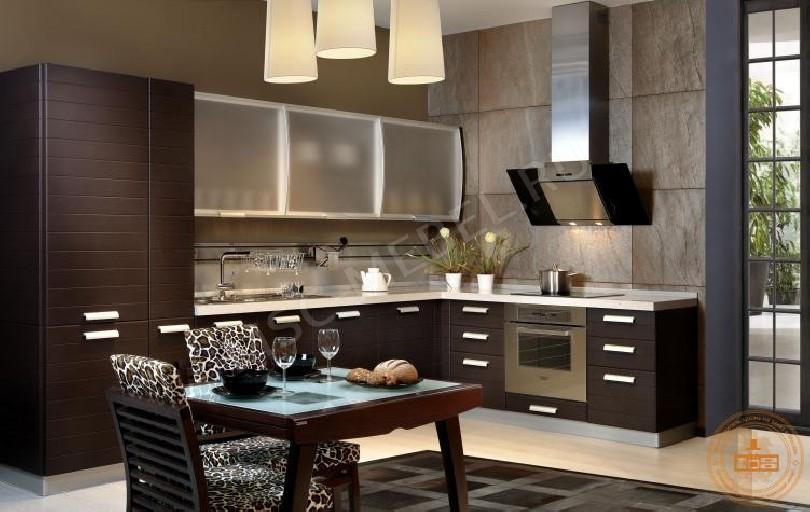 Угловая кухня «Кухня Шоколадный фондан»