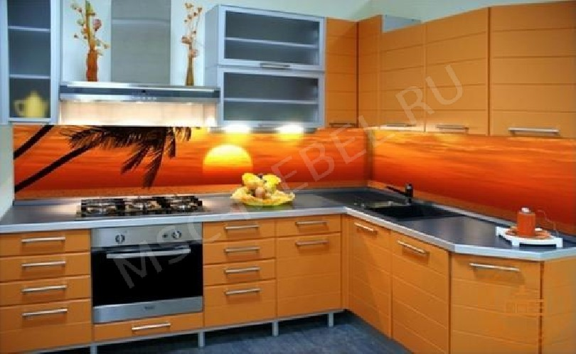 Угловая кухня «Кухня Пальма»